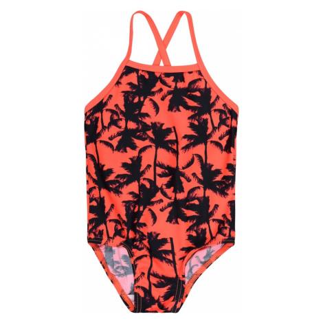 NAME IT Strój kąpielowy różowy / ciemnopomarańczowy / atramentowy