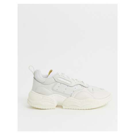 Adidas Originals supercourt RX trainers in white x home of classics edition