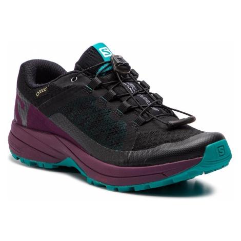 Buty SALOMON - Xa Elevate Gtx W GORE-TEX 406128 20 V0 Black/Potent Purple/Tropical Green