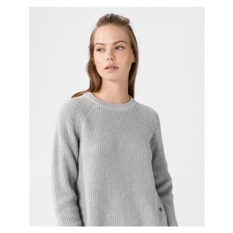 Calvin Klein Cross Over Back Sweter Szary
