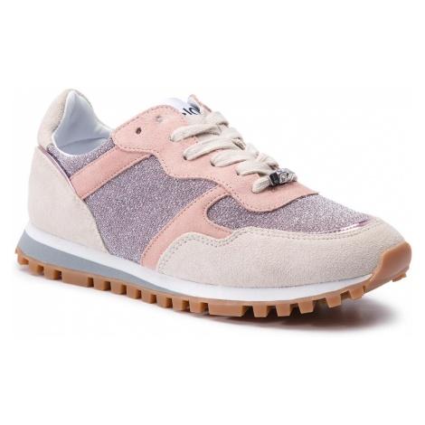 Sneakersy LIU JO - Alexa BXX049 PX037 White/Pink