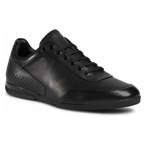 Sneakersy BOSS - Saturn 50439394 10230186 01 Black 001 Hugo Boss