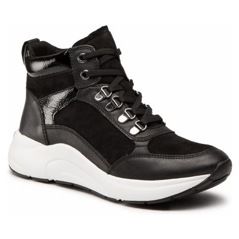 Sneakersy CAPRICE - 9-25201-25 Black Comb 019
