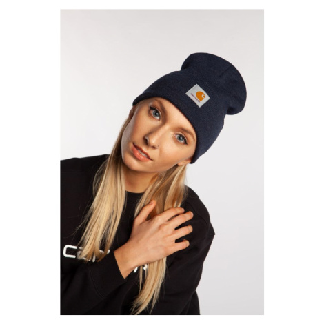 Czapka Carhartt Wip Acrylic Watch Hat Ve00 Dark Navy Heather