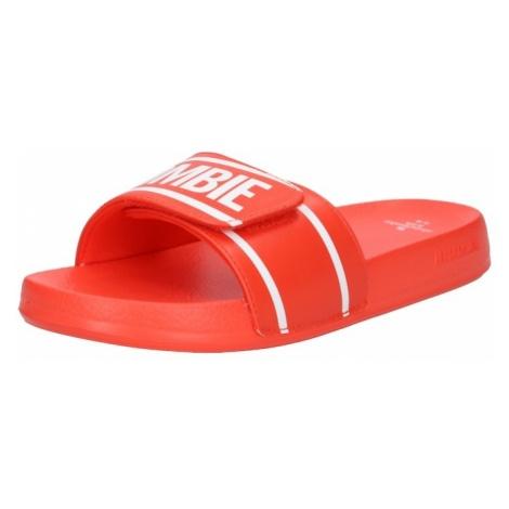 Abercrombie & Fitch Buty na plażę/do kąpieli czerwony