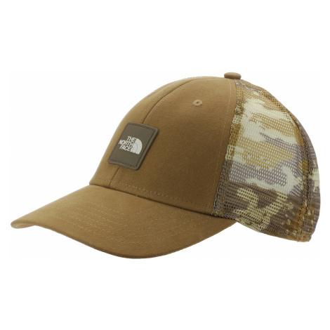 czapka z daszkiem The North Face Mudder Novelty Mesh Trucker - Moab Khaki Woodchip Camo Desert P