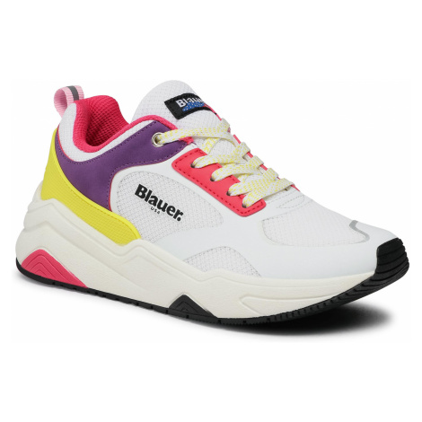Sneakersy BLAUER - S1TAYLOR01/MES Fantasy/White