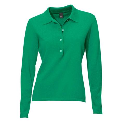 Heine Sweter nakrapiany zielony