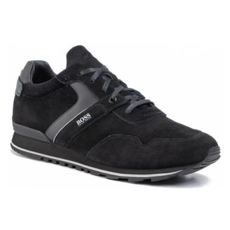 Boss Sneakersy Parkour 50422401 10223357 01 Czarny Hugo Boss