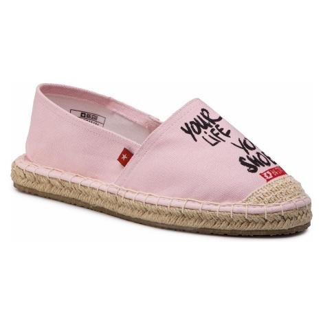 Espadryle BIG STAR - DD274A184 Pink
