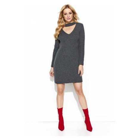 Sweter damska Makadamia MAKs76 Graphite