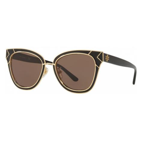 Tory Burch Okulary przeciwsłoneczne 'TY6061 325673' złoty