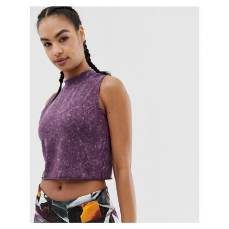 Reebok Training Burnout Vest In Purple