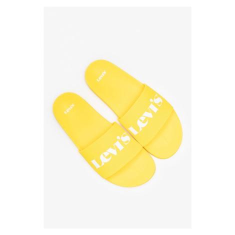 Klapki Levi's June Mono S 37545-0052 Yellow Levi´s