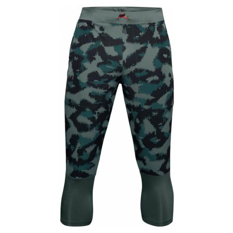 Spodnie dresowe Under Armour UA Run Anywhere Prnt 3/4 PTS-BLU