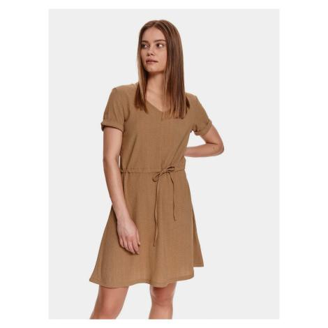 TOP SECRET brązowy sukienka