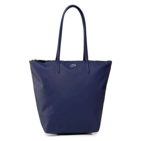 Torebka LACOSTE - Vertical Shopping Bag NF1890PO Blue Depthis D55