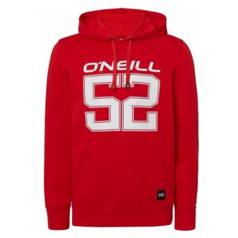 O'Neill LM IRVINE 52 HOODIE czerwony L - Bluza męska