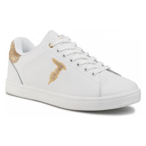 Trussardi Jeans Sneakersy 79A00469 Biały
