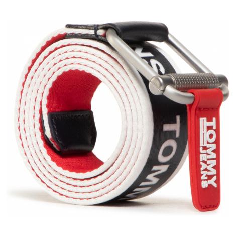 Pasek Męski TOMMY JEANS - Tjm Logo Tape Rev Web Belt 3.5 AM0AM06222 0GY Tommy Hilfiger