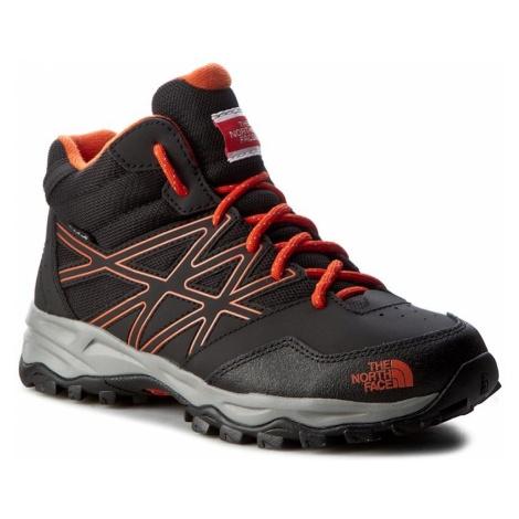 Trekkingi THE NORTH FACE - Hedgehog Hiker Mid Wp T0CJ8QNMY Tnf Black/Mandarin Red