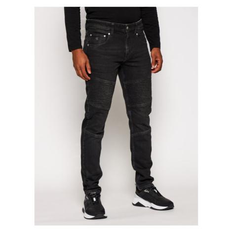 Calvin Klein Jeans Jeansy Slim Fit Ckj 058 J30J316880 Czarny Tapered Fit
