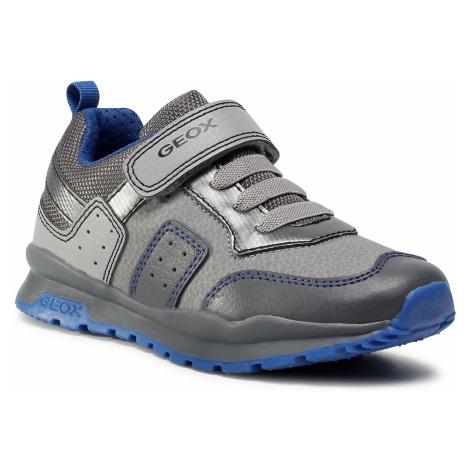 Sneakersy GEOX - J Pavel B. B J0415B 0BUCE C0071 S Dk Grey/Royal