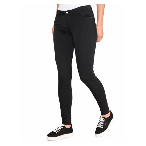 Guess Curve X Spodnie Czarny