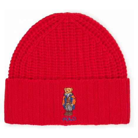 Czapka POLO RALPH LAUREN - Outdoor Bear Hat 449823766002 Red