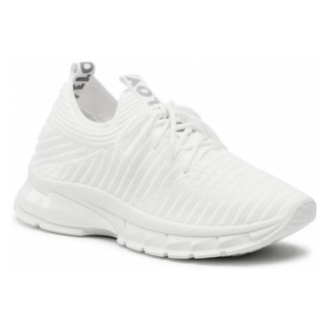 DeeZee Sneakersy WSS20102-14 Biały