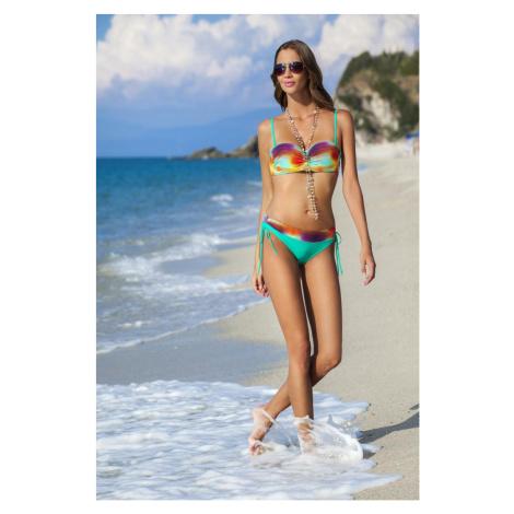 Damski dwuczęściowy strój kąpielowy Atena green Ewlon