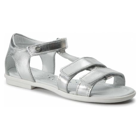 Sandały BARTEK - 59016/SIE Srebrny