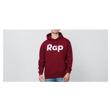 RAP Hoodie Burgundy/ White