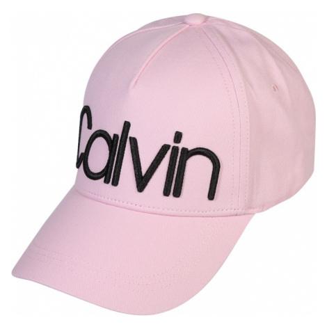 Calvin Klein Czapka z daszkiem różowy