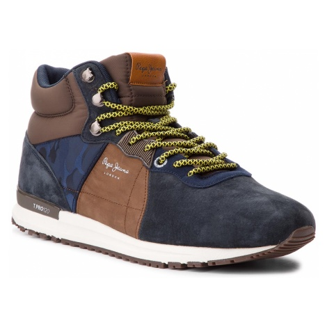 Sneakersy PEPE JEANS - Tinker Pro-Boot PMS30490 Navy 595