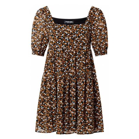 Fashion Union Letnia sukienka 'DARLA' czarny / mieszane kolory