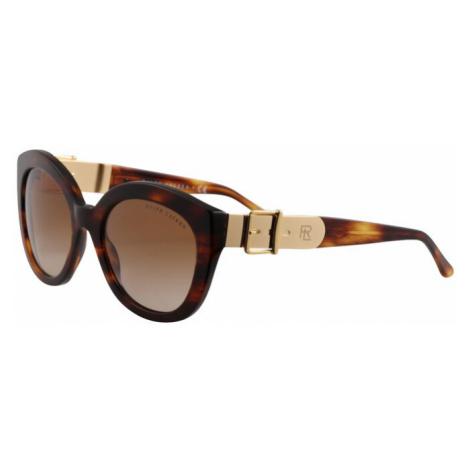 RALPH LAUREN Okulary przeciwsłoneczne '0RL8185' brązowy / złoty
