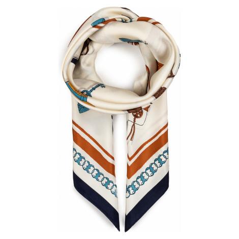 Chusta TORY BURCH - Bon Voyage Silk Square 70389 Tory Navy 405