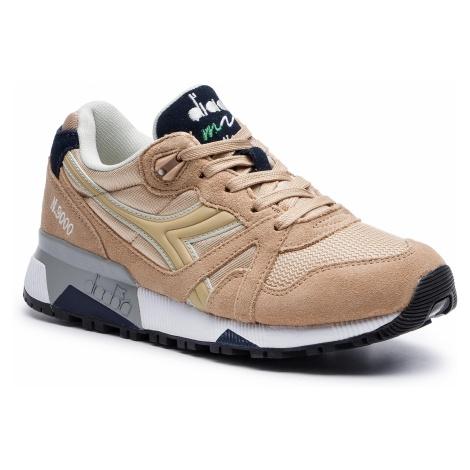 Sneakersy DIADORA - N9000 Nyl II D501.170941 01 25061 Beige Juta
