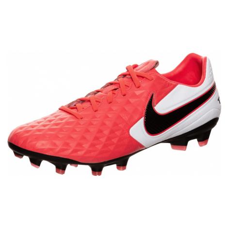 NIKE Buty piłkarskie 'Tiempo Legend 8 Pro' biały / neonowa czerwień / czarny