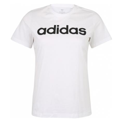 ADIDAS PERFORMANCE Koszulka funkcyjna biały / czarny