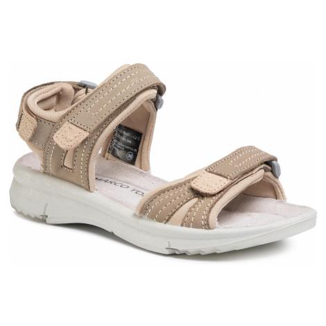 Sandały MARCO TOZZI - 2-28531-24 Taupe Comb 344