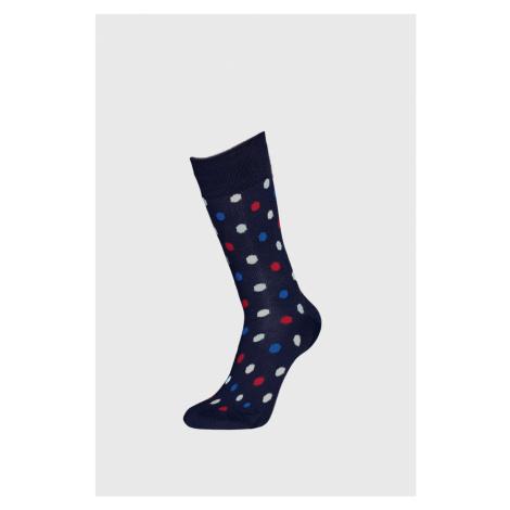Skarpetki Happy Socks Dot niebieskie