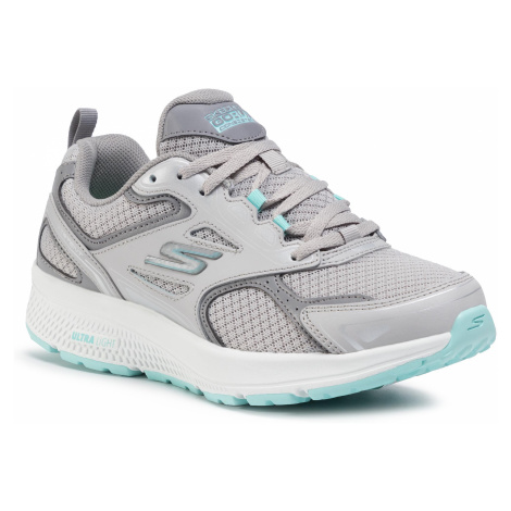 Buty SKECHERS - Go Run Consistent 128075/GYTQ Gray/Turquoise