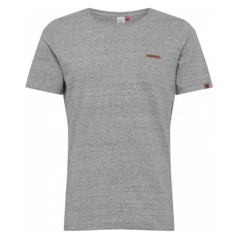 Ragwear Koszulka 'Nedie' szary / jasnoszary / karmelowy