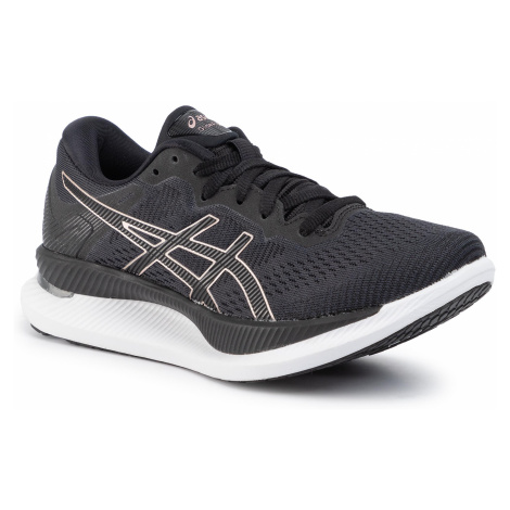 Buty ASICS - GlideRide 1012A699 Black/Rose Gold 001