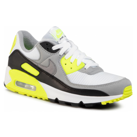 Buty NIKE - Air Max 90 CD0881 103 White/Particle Grey/Volt Black