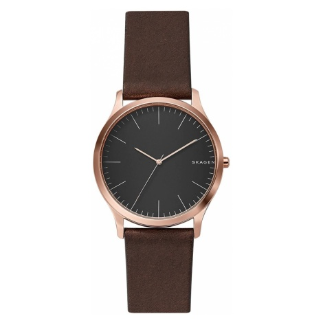 Zegarek SKAGEN - Jorn SKW6330 Dark Brown/Rose Gold