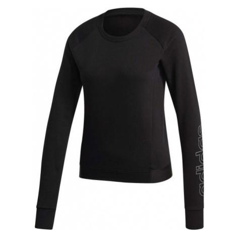adidas MOTION SWEATSHIRT czarny M - Bluza damska