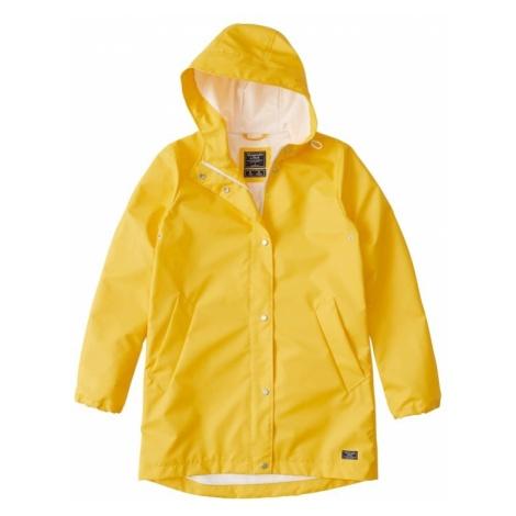 Abercrombie & Fitch Kurtka przejściowa 'SB19-RAINCOAT' żółty